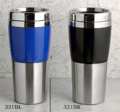 14oz. Drinking Tumbler, Stainless Steel