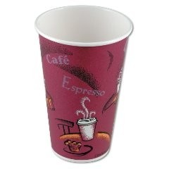 Solo Bistro Design Hot Drink Paper Cups 16 oz