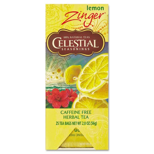 Celestial Seasonings Tea, Herbal Lemon Zinger