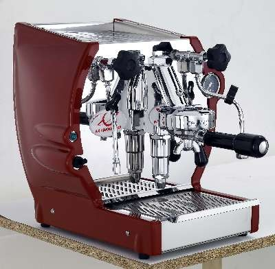 CUADRA Commercial espresso machine - red