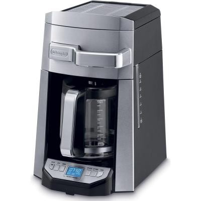 Delonghi 14 Cup Drip Coffee Maker Programmable Front Access