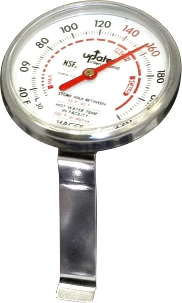 Frothing Thermometer With Clip