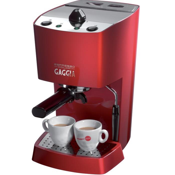 Gaggia Espresso Color, Red