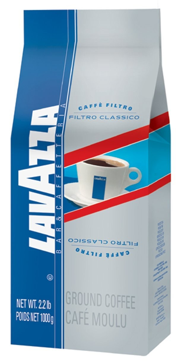 Lavazza Filtro Classico Italian House Blend Coffee, Whole Beans