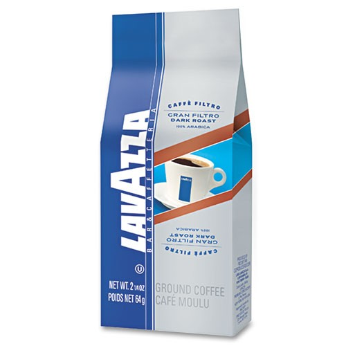 Lavazza Gran Filtro Italian Dark Roast Ground Coffee