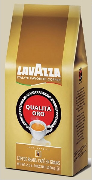 Lavazza Qualita Oro Espresso, 2.2 lb bags, Whole Bean
