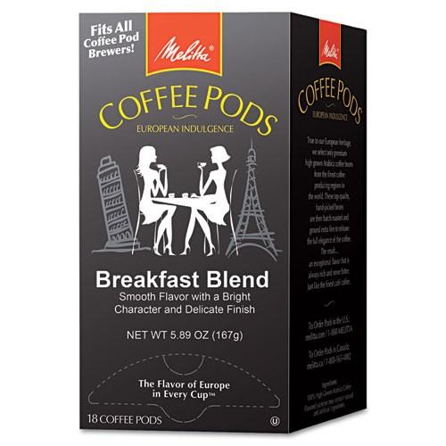 Melitta Breakfast Blend Coffee, 18 Pods