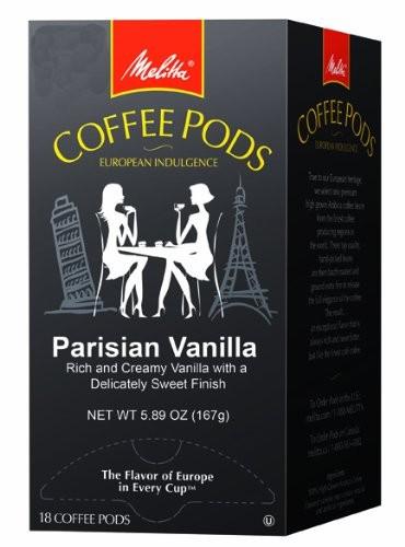 Melitta Parisian Vanilla Coffee Pods
