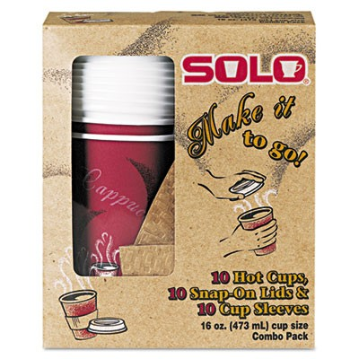 Solo Bistro  Combo Pack, Poly-Coated Paper