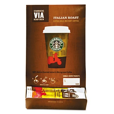 Starbucks VIA Ready Brew Instant Italian Coffee