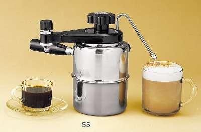 Stove-Top Espresso/Cappuccino Maker