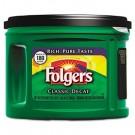 Folgers Coffee, Classic Roast Decaffeinated, Ground