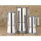 ILSA Stainless Steel Stove Top Espresso Maker, 3- cup