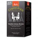 Melitta Vanilla Crème Brulee Coffee Pods, Dark Roast