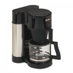 Bunn 10-Cup Professional Home Coffee Brewer, Stainless Steel, Black